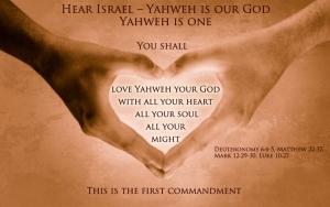 First commandment